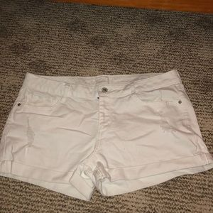 White shorts (never worn)